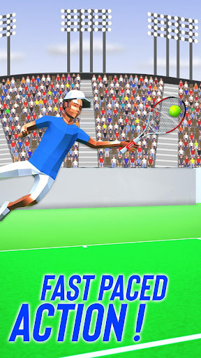 Tennis Fever 3D: Free Sports Games 2020 android2mod screenshots 6
