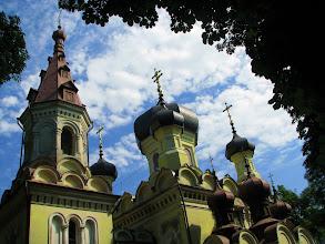 Photo: Hrubieszów. Cerkiew prawosławna w stylu rosyjsko-bizantyjskim o 13 cebulastych kopułach. W całej Europie są tylko dwie cerkwie o 13 kopułach, druga znajduje się w Finlandii.