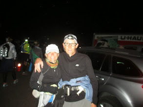 Photo: Deb and I about to start the Zane Grey 50....errrr, 33....err 23.5!