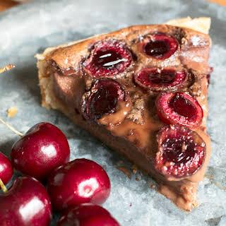 Nutella Cherry Tart.