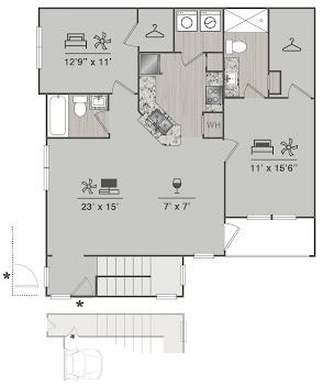 Go to B1U ALT Floorplan page.