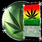 Weed Rasta Keyboard Themes icon