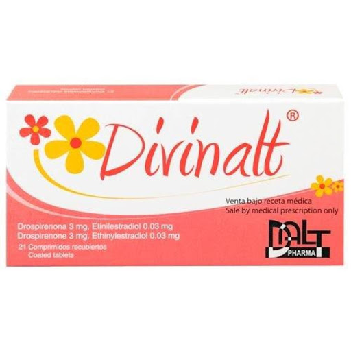 drospirenona + etinilestradiol divinalt 3/0,03mg