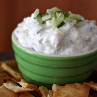 Cucumber and Feta Greek Yogurt Dip