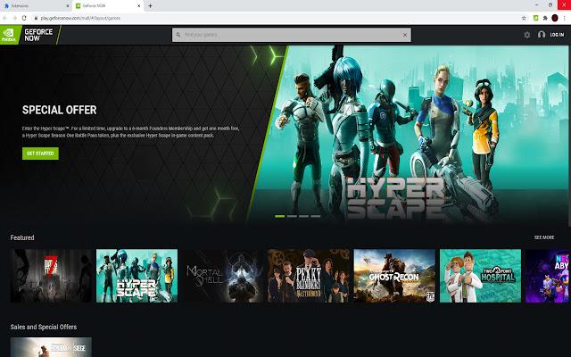 GeForce Now Web Enabler