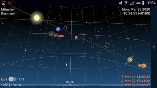 Astrolapp Live Planets Apk and Sky Map 3