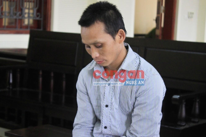 Bị cáo Xeo Phò Sơn  tại phiên tòa