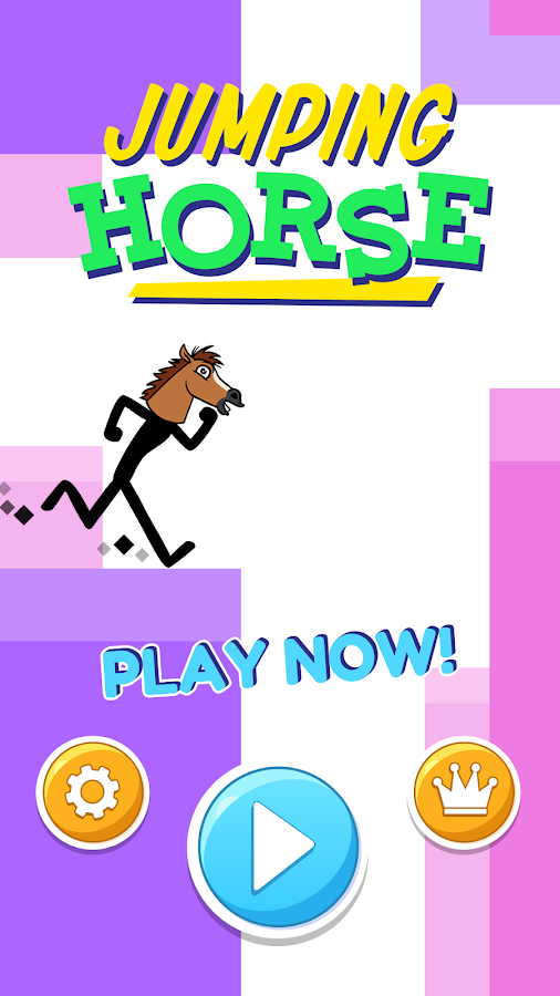JUMPING HORSE HEAD HAPPY HORSE- screenshot