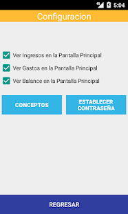 Control de Gastos - náhled