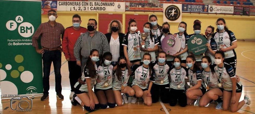 Equipo cadete femenino B.