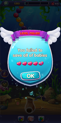 Bubble Blast : Fish Rescue screenshot 6