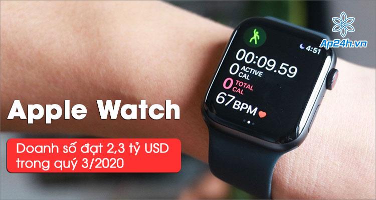 Doanh số Apple Watch đạt 2,3 tỷ USD trong quý 3