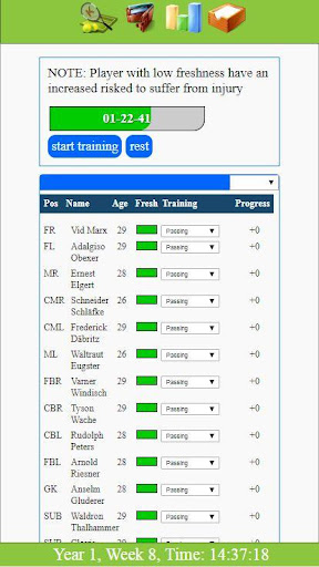 Kickoff - Football Tycoon Manager Game filehippodl screenshot 2