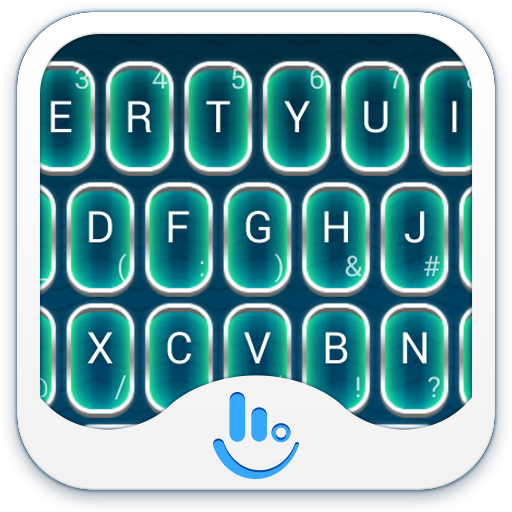Fluorescent Light Keyboard 商業 App LOGO-硬是要APP