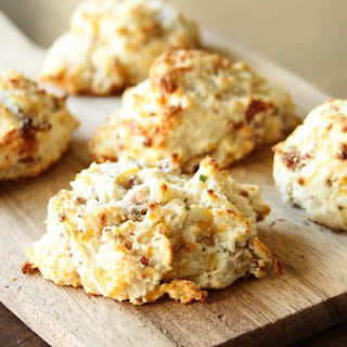 Cheddar, Bacon, Ranch Drop Biscuits.