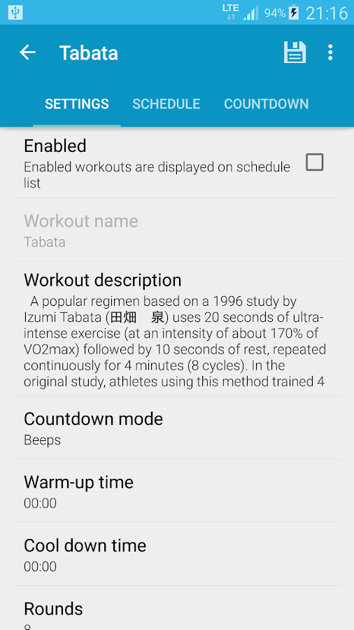 HIIT - interval workout PRO- screenshot