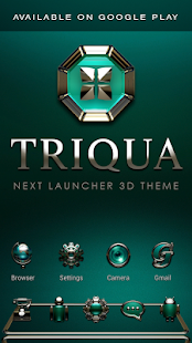 TRIQUA Analog Clock Widget- screenshot thumbnail