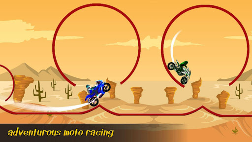 Tiny Bike Race - Bike Stunt Tricky Racing Rider 2 screenshots 1