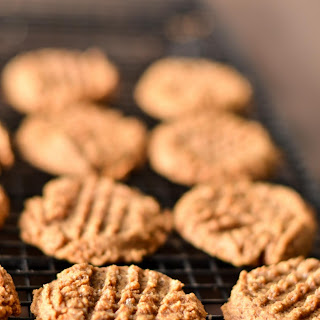 Almond Butter Cookies - Gluten Free, Sugar Free.