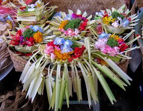 Photo: Balinese offerings