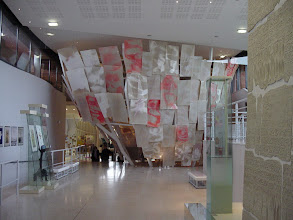 Photo: A new section of the museum, the Hall of Peace, covers events during the Cold War period and after.