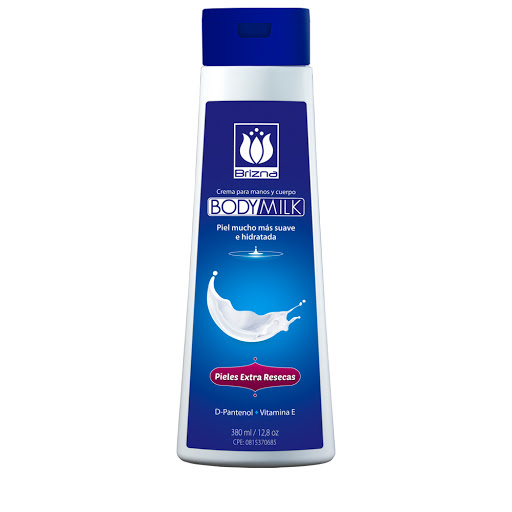 crema corporal brizna body milk piel extra reseca 380ml