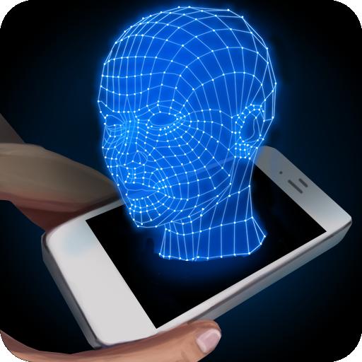 人々は、3Dシミュレータをホログラム 模擬 App LOGO-APP試玩
