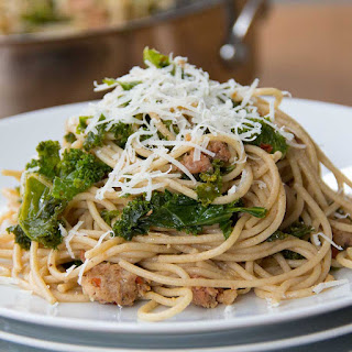 Sausage and Kale Spaghetti