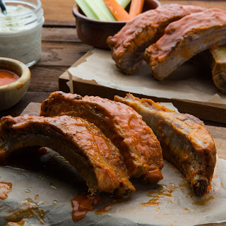 Buffalo Pork Ribs.
