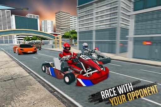 ATV Traffic Rider 2019: Quad Bike & Kart Apk by Gamestr - Car Moto