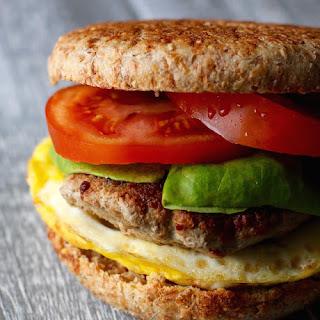 Turkey Sausage Breakfast Sandwiches
