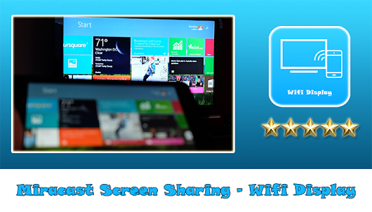 Miracast Screen Sharing - Wifi Display - náhled