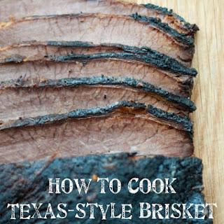 Texas-style Barbecued Brisket.