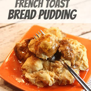 Slow Cooker French Toast Bread Pudding.