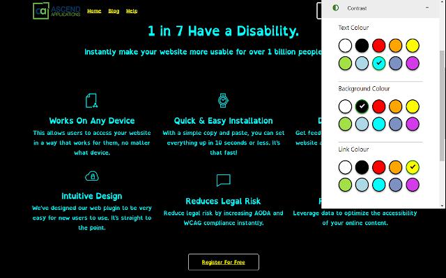 AccessAbility (Accessibility) for Chrome