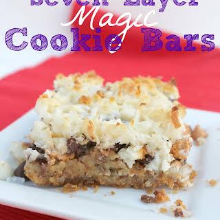 Seven Layer Magic Cookie Bars.