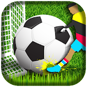 Flick Shoot Soccer 2017 3D