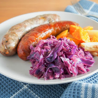 Braised Red Cabbage with Apples Recipe