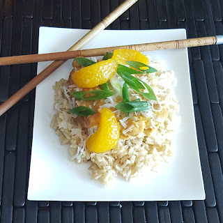 Crocked Orange Chicken