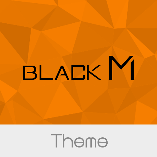 Black M  Orange Theme