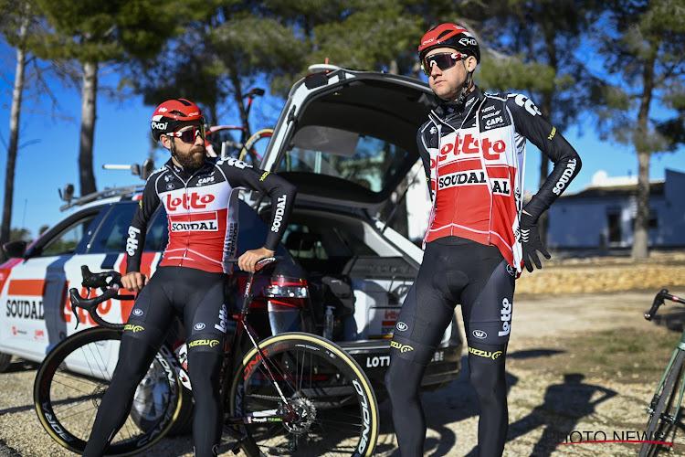 Thomas De Gendt en Tim Wellens kiezen nieuwe kleuren voor hun fiets