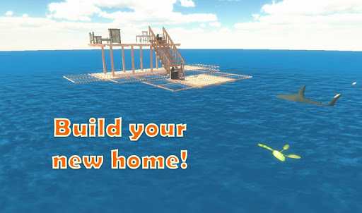 Raft Survival Simulator 2.4 APK MOD screenshots 1
