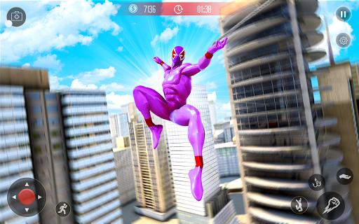 Amazing Spider Crime Hero: Gangster Rope Hero Game 3 screenshots 4