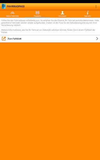 Fahrradpass 2.1.1 screenshots 9