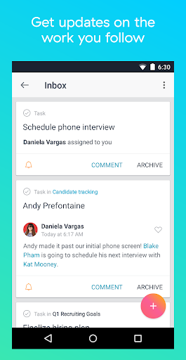 Asana: organize team projects 5.39.2 screenshots 3