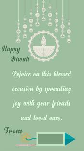 Diwali Photo Wishes & Diwali Greetings - náhled