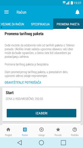 Moj Telenor 1.23.3 screenshots 6