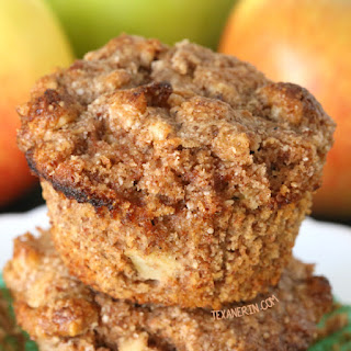 Apple Muffins (grain-free, gluten-free)