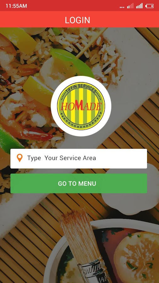 Homade(Tiffin Services)- screenshot