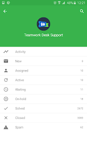 Teamwork Desk - náhled